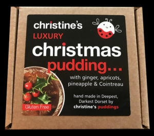 Christine's Luxury Christmas Pudding