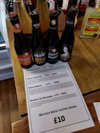 Belgium Beer Offer